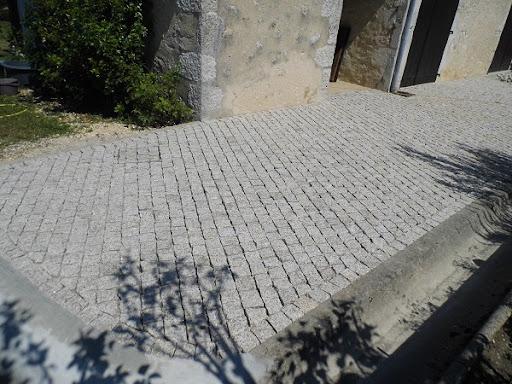 exemple pose pavé portugais en diagonale